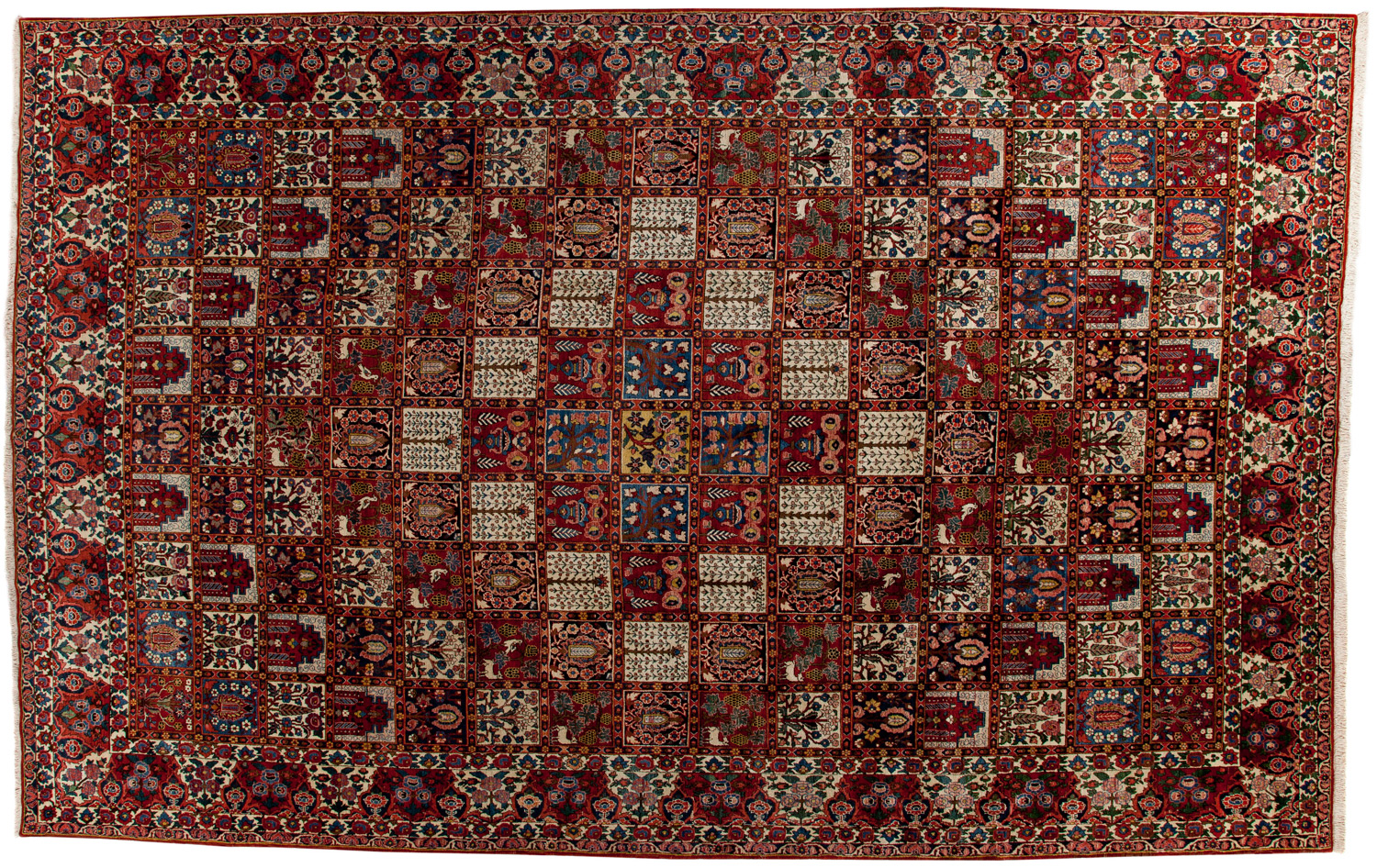 Hand Knotted Wool Persian Rug