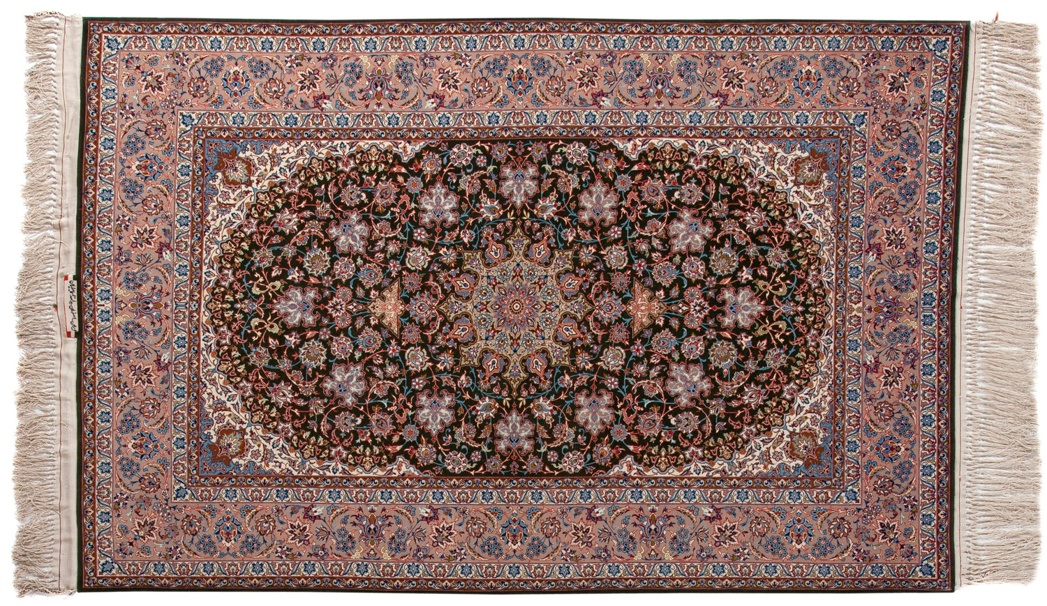 Signature Wool/Silk Persian Rug