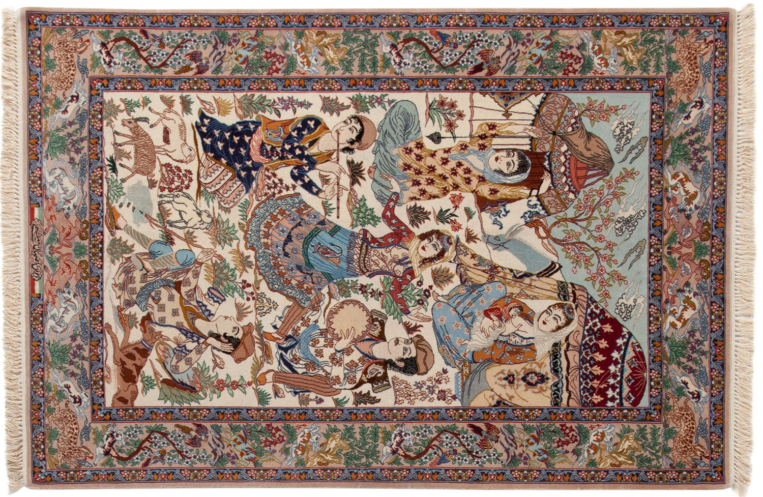 Fine Quality Art Persian Rug