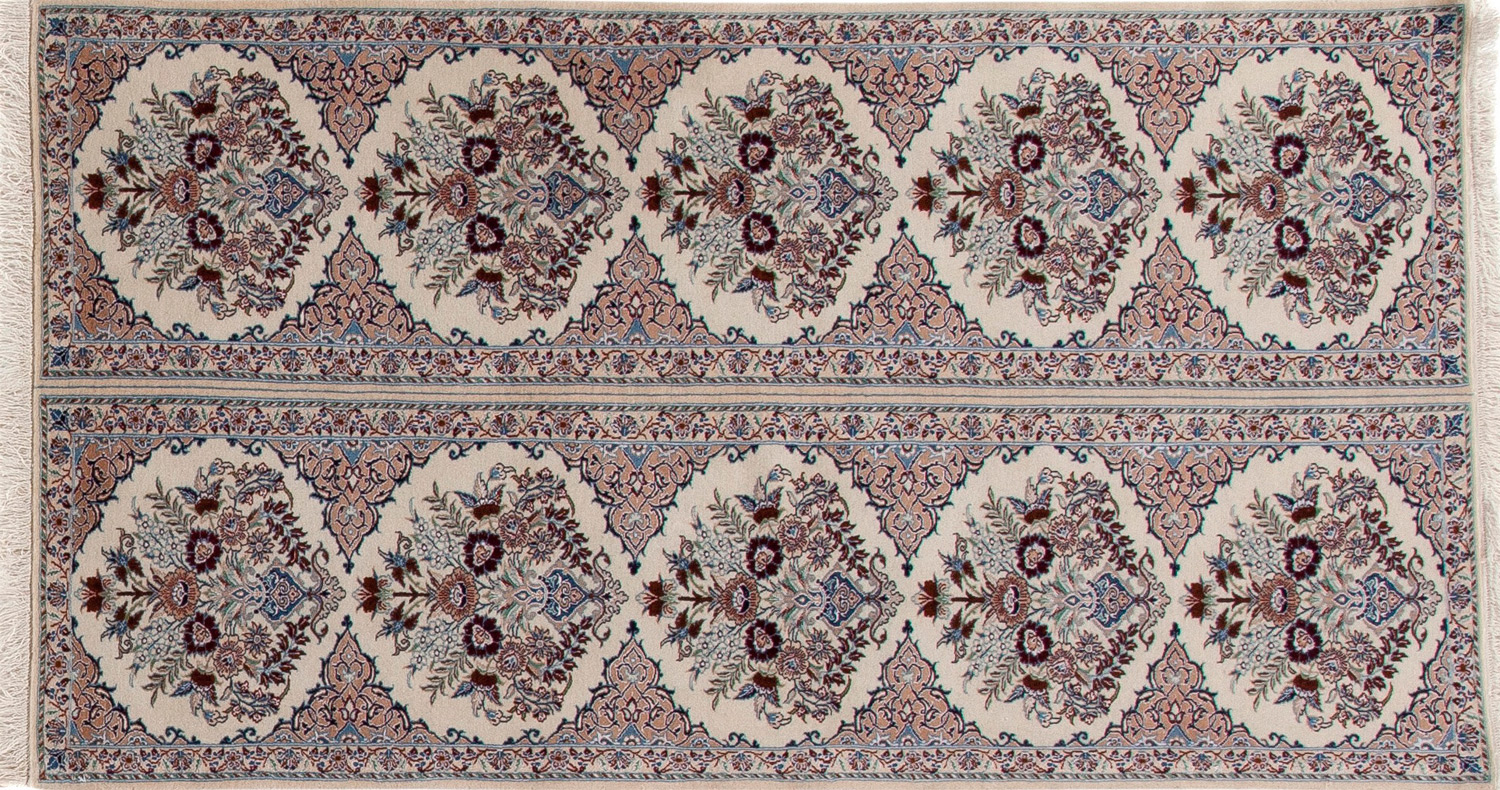 Persian Rug with Traditional Motifs