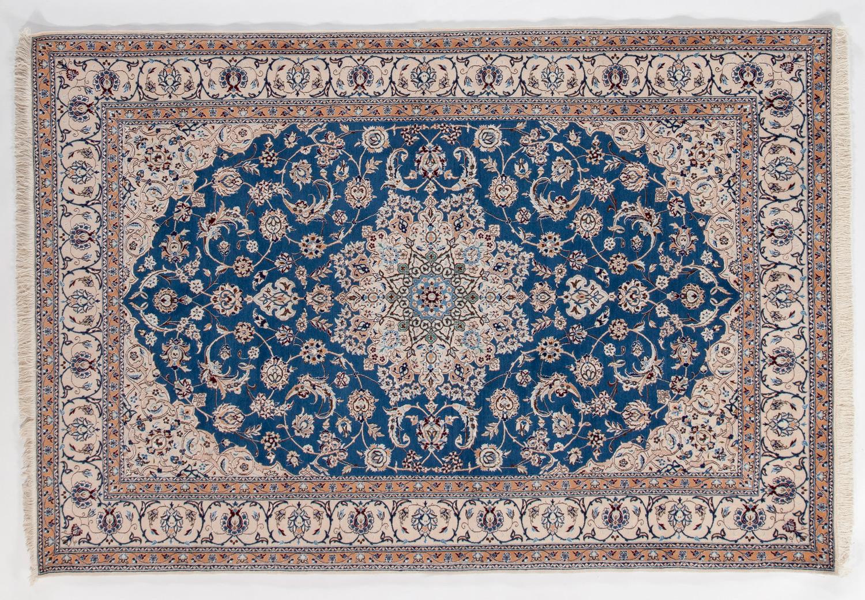 Wool/Silk Persian Rug