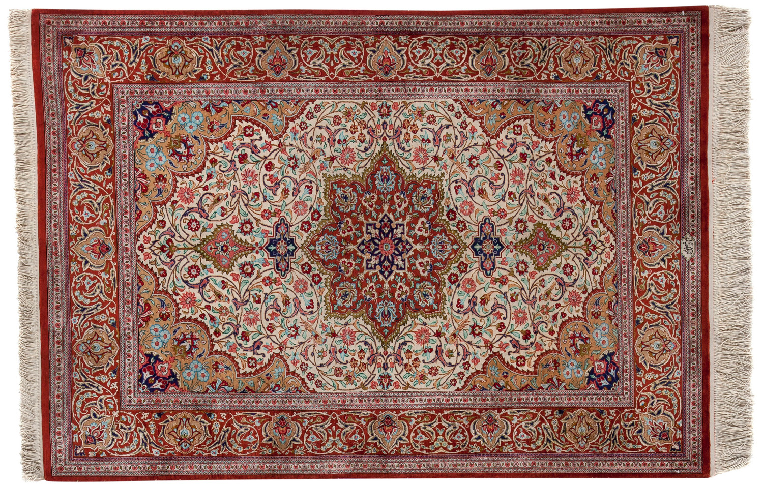 Luxurious Silk Persian Rug