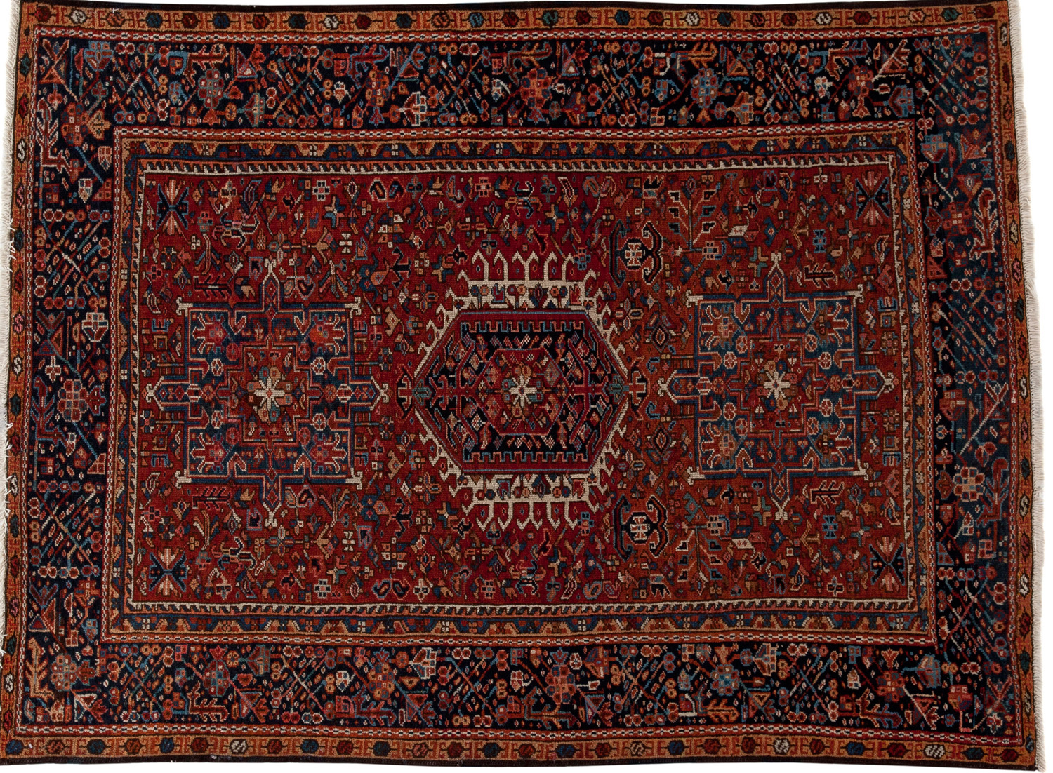 Vegetable-Dyed Persian Rug