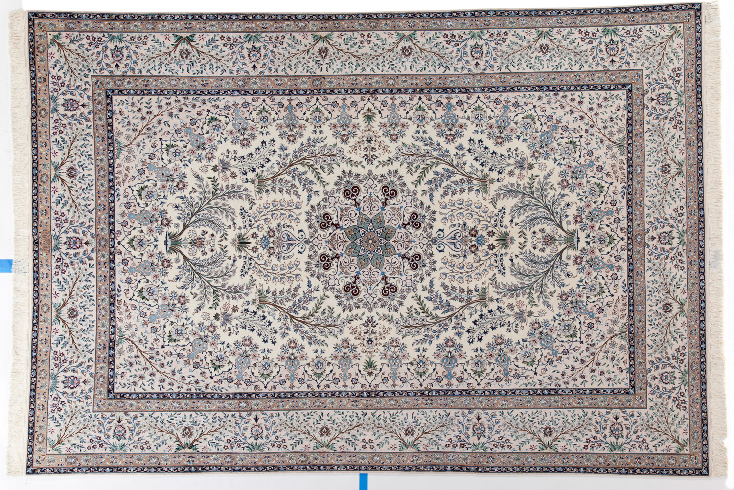 Wool/Silk Persian Rug