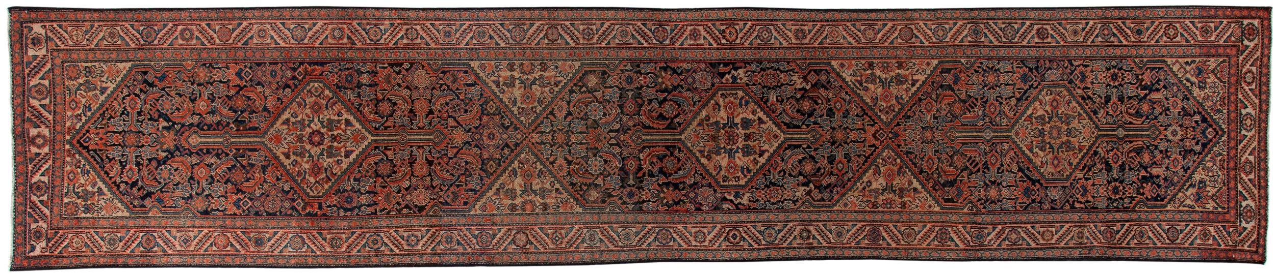 Antique Old Persian Style Runner